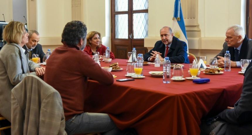 El gobernador destacó el rol de la Anlis Malbrán en la lucha contra la pandemia de Covid-19