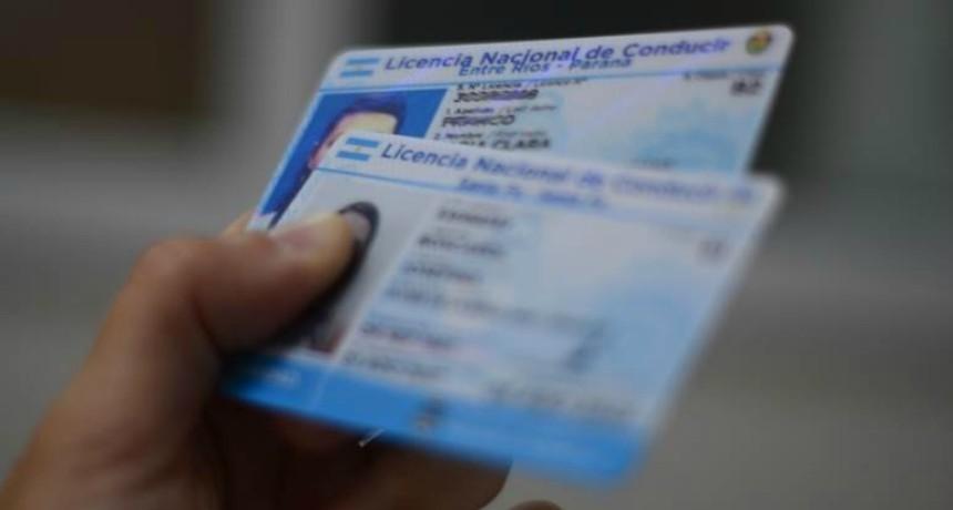 Nueva prórroga del vencimiento de las licencias de conducir