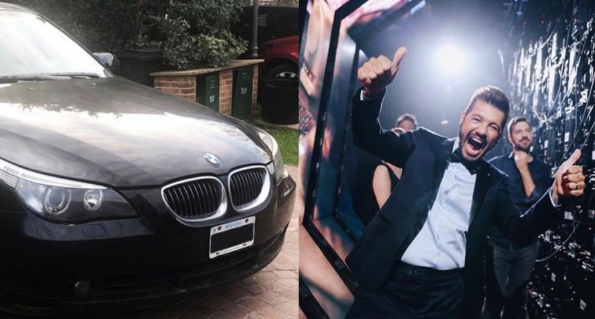 Venden a casi 13 mil dólares el BMW blindado de Marcelo Tinelli