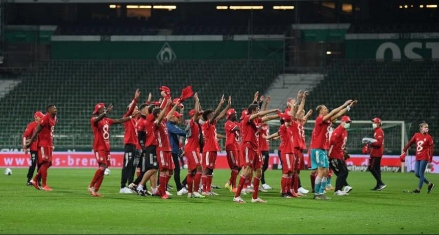Bayern Munich se consagró octacampeón