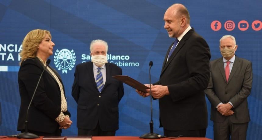 Sonia Martorano asumió como Ministra de Salud de la Provincia