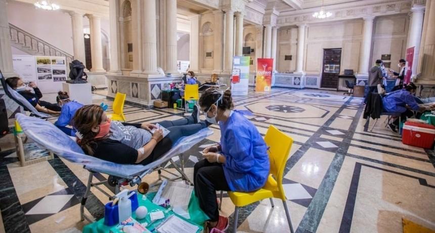 Nueva jornada de donación de sangre en Rectorado de la UNL