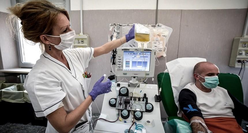 La mitad de los recuperados de Coronavirus en Santa Fe se anotó para donar plasma