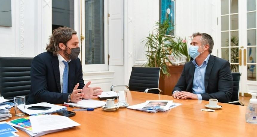El Diputado Leandro Busatto se reunió con el Ministro Santiago Cafiero