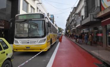 Cortes de tránsito y desvíos de colectivos por trabajos de reordenamiento del macrocentro de la ciudad