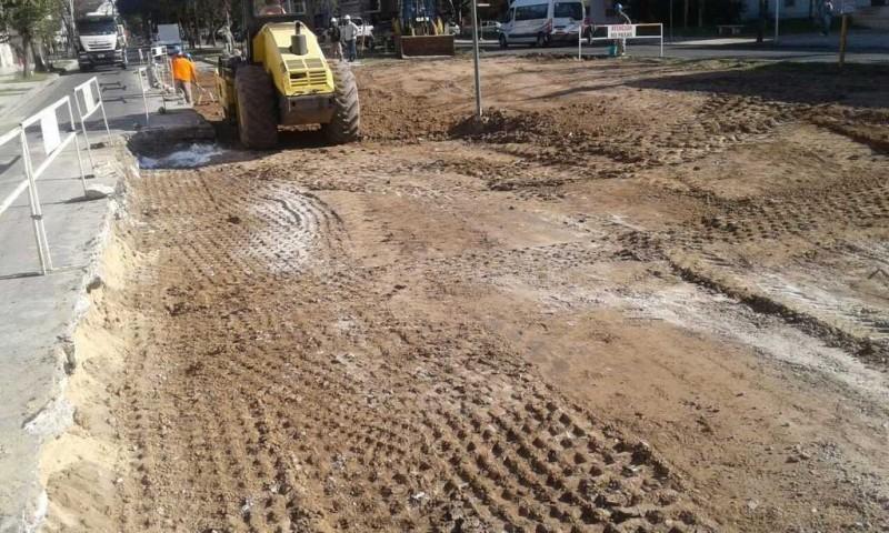 Por arreglos en Urquiza y Bv. está interrumpido el tránsito vehicular
