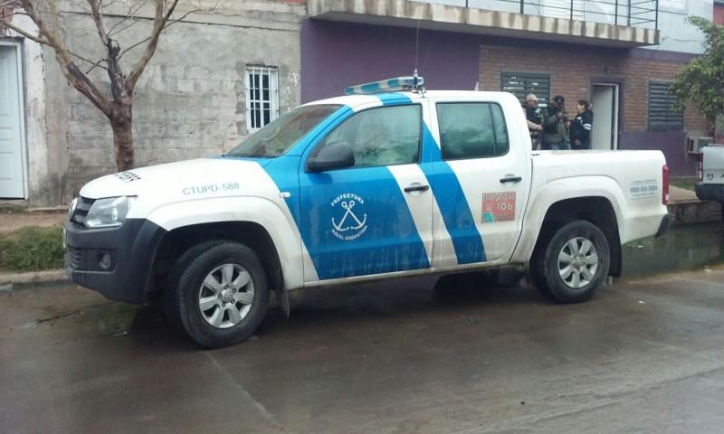 Prefectura realiza allanamientos en la ciudad de Santa Fe