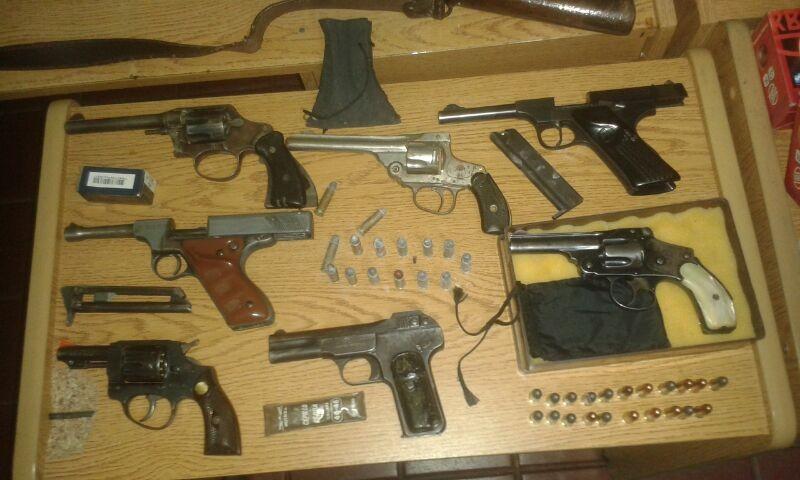 Más de 500 armas de fuego secuestradas en el primer semestre del año