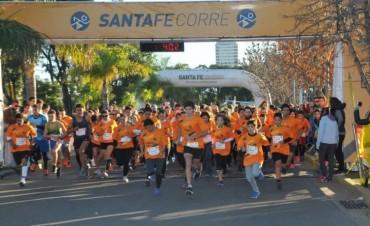 Se disputó la Santa Fe Corre con más de 1500 participantes