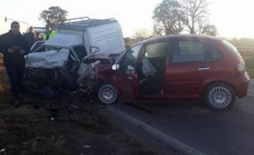 Un muerto en choque frontal sobre Ruta 11, en el acceso sur a Candioti