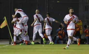 River ganó en Paraguay y sacó una buena ventaja para la vuelta
