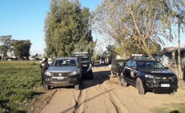 Se hicieron allanamientos por el crimen de Cejas