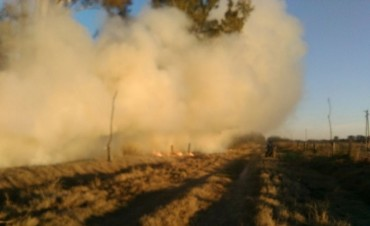 Murieron dos personas en un incendio en Colonia Bossi