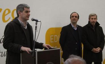 Peña y Corral inauguran obras en el oeste de la ciudad