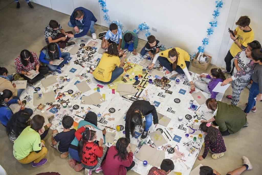 Las Escuelas de Trabajo, invitadas para participar de la Bienal de Arte Joven 2018