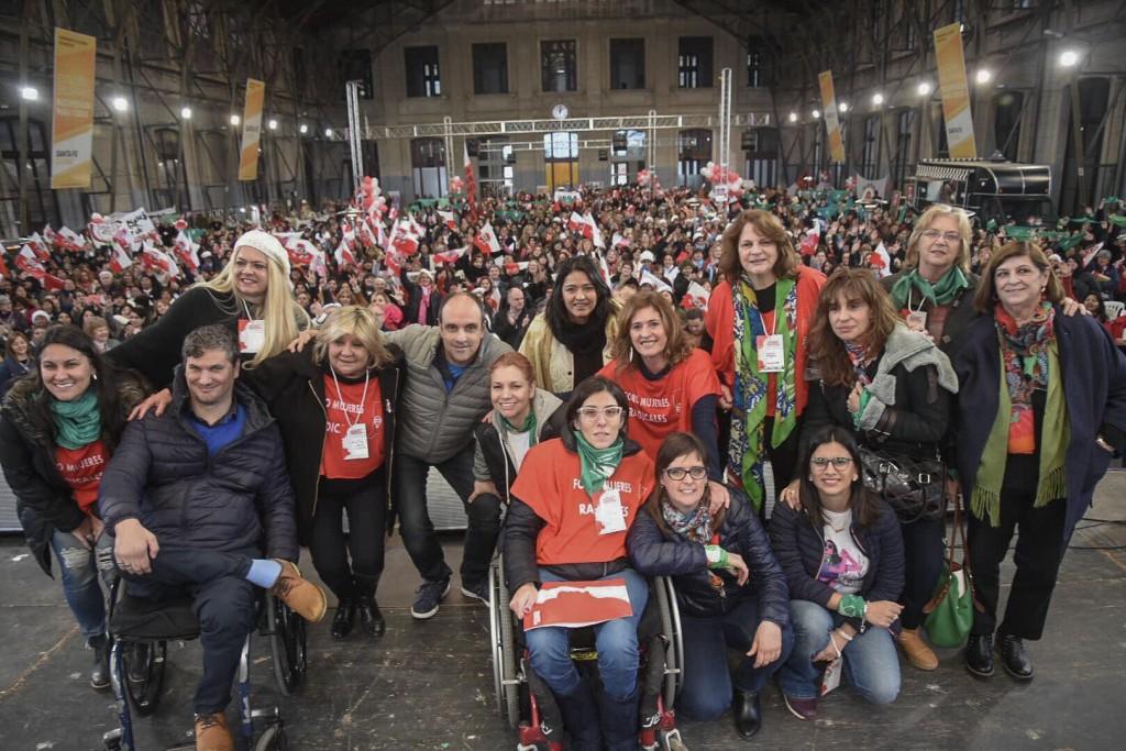 Un encuentro con la marca de la diversidad, la juventud y el avance en la la conquista de derechos