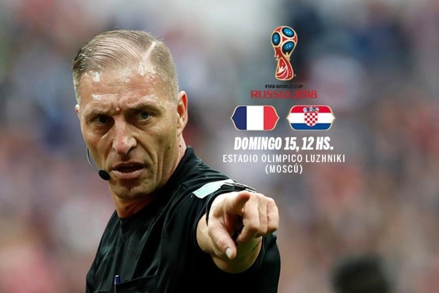 Pitana dirigirá la final del Mundial