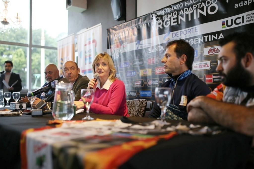 El sábado se realizará el Campeonato Argentino de Ciclismo Adaptado