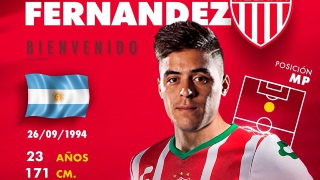 ¿Brian Fernández se postuló para ser el delantero de Colón?