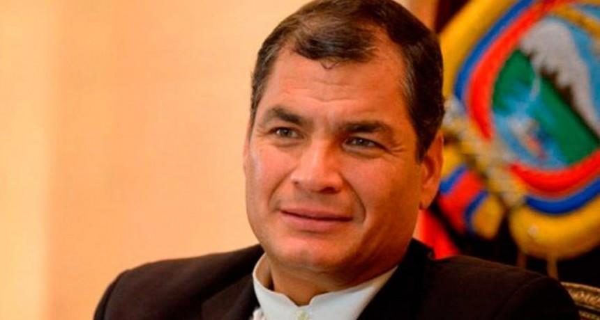 Ordenan la detención del ex presidente ecuatoriano Rafael Correa