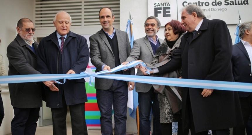 Corral inauguró un Centro de Salud en Coronel Dorrego