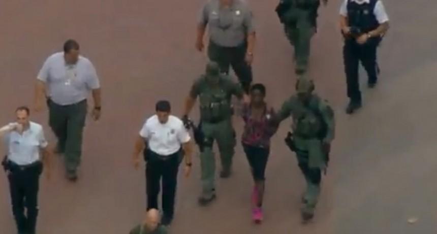 Fue detenida la mujer que escaló la Estatua de la Libertad