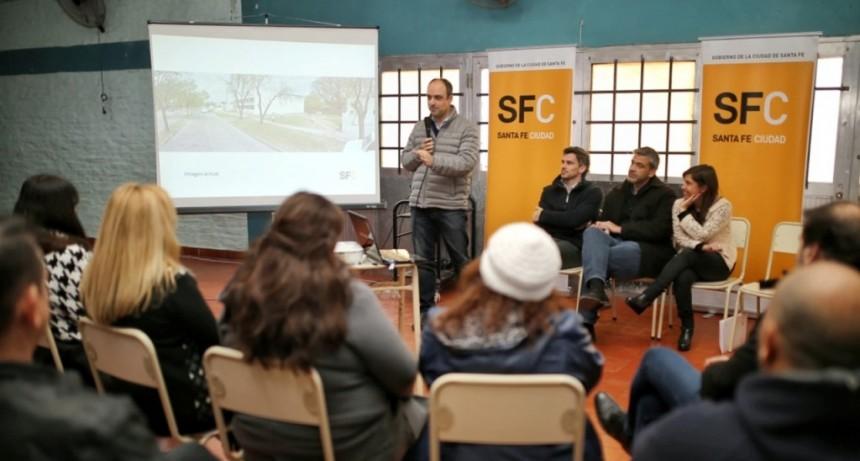 Corral presentó un proyecto de mejoras en el entorno a escuelas de Yapeyú