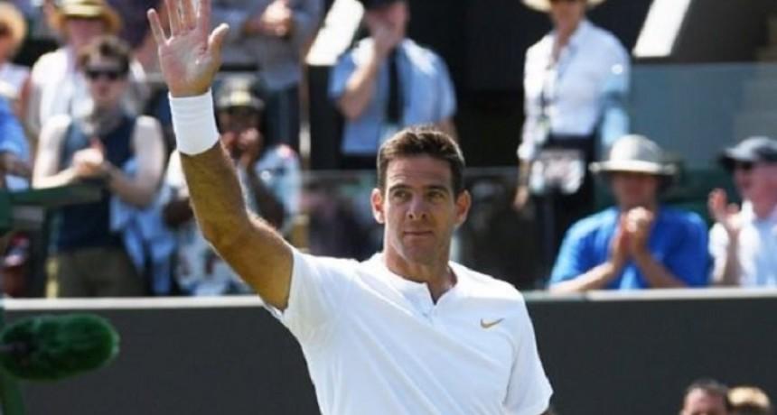 Del Potro ganó y se metió en tercera ronda de Wimbledon