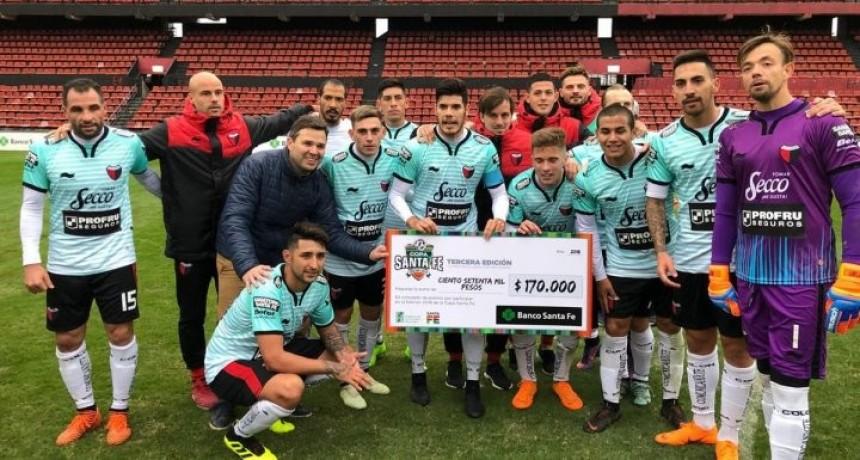 Colón 5 Ex Alumnos 0 en su debut en la Copa Santa Fe 2018