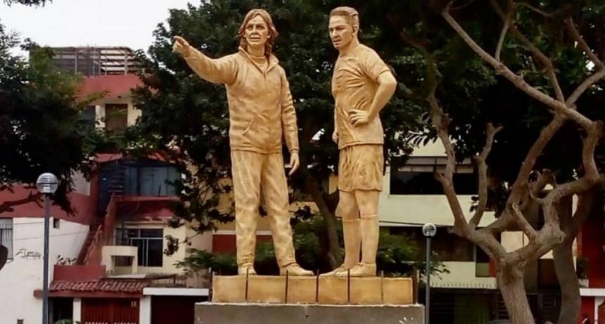 El Tigre Gareca tendrá su propia estatua en Perú