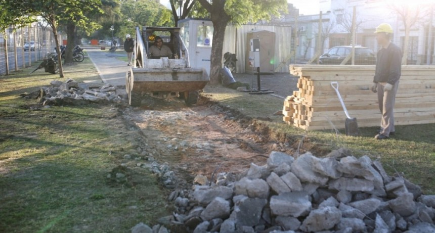 Comenzó la remodelación de Avenida Freyre