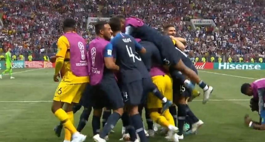 Francia es el nuevo campeón del mundo