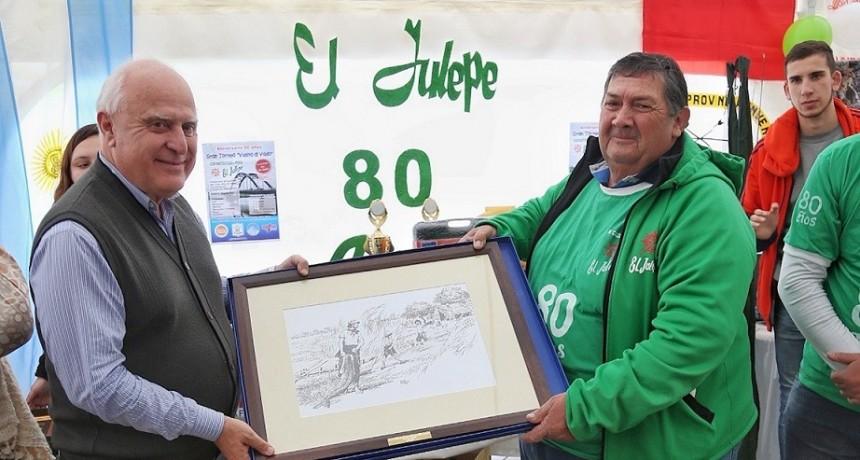 Lifschitz participó en Santo Tomé de los festejos por los 80 años del club El Julepe