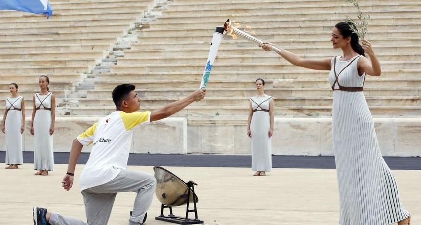 Se encendió la antorcha olímpica