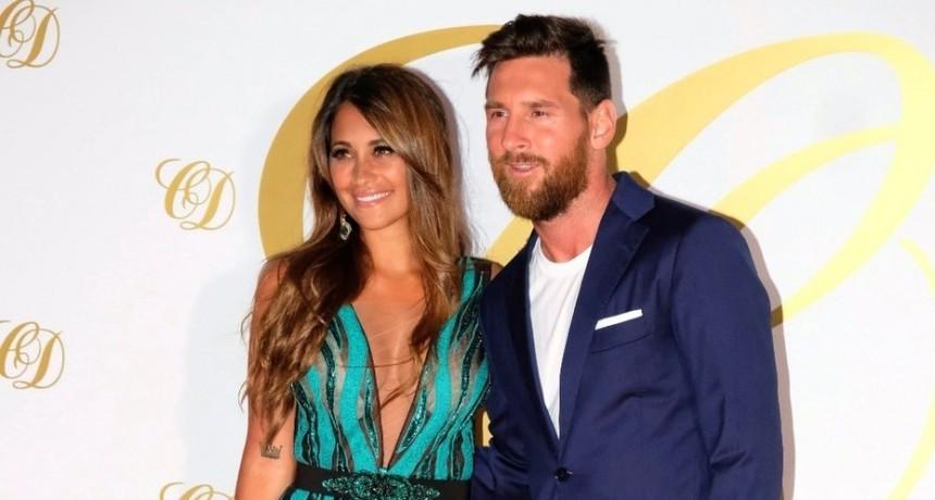 Lionel Messi y Antonela Roccuzzo brillaron en la fiesta de casamiento de Cesc Fábregas