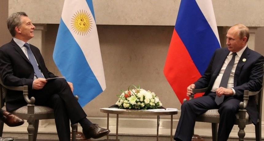 Mauricio Macri estuvo reunido con Vladimir Putin y Xi Jinping en Sudáfrica
