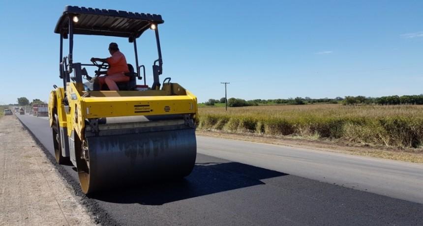Finaliza la obra de pavimentación de la ruta 39 en San Justo