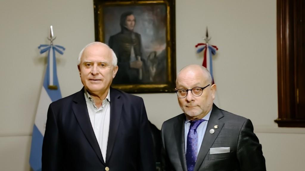 Cumbre del Mercosur: Lifschitz recibió al ministro de Relaciones Exteriores de la Nación