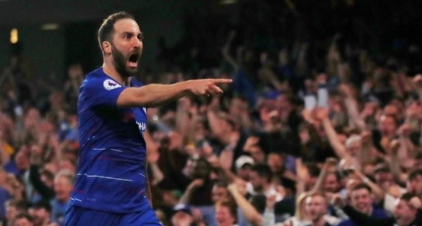 Gonzalo Higuaín no continuará en el Chelsea