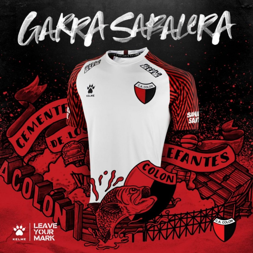 Kelme presentó la nueva camiseta de Colón