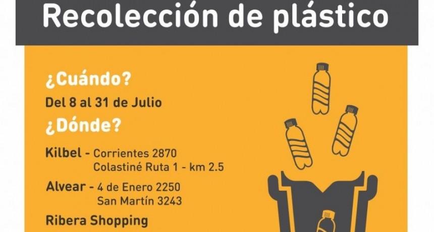 Campaña de recolección de plástico