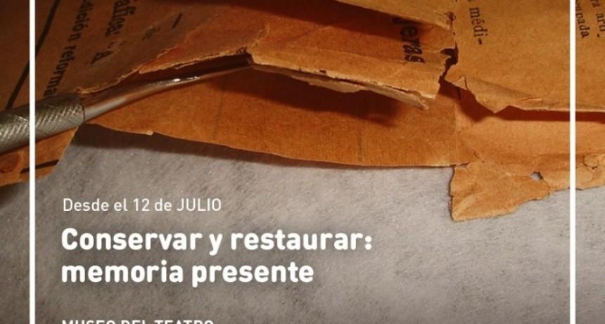 """El Museo del Teatro habilita la muestra """"Conservar y restaurar: memoria presente"""""""