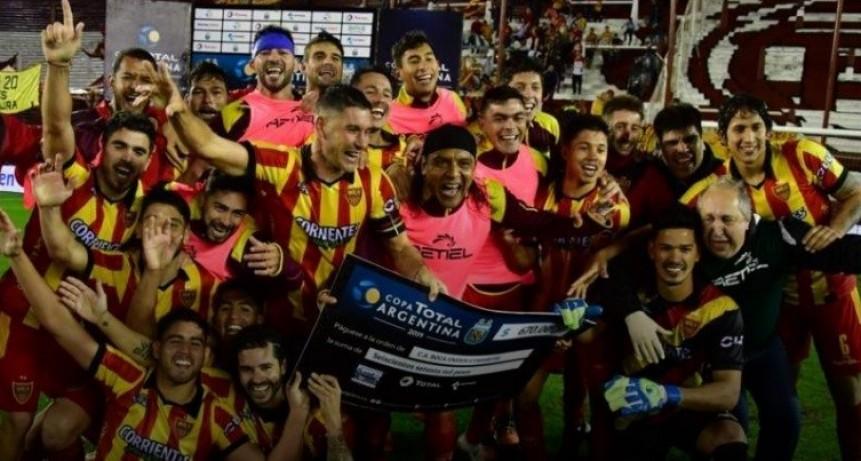 Boca Unidos dio el golpe y eliminó a Racing de la Copa Argentina