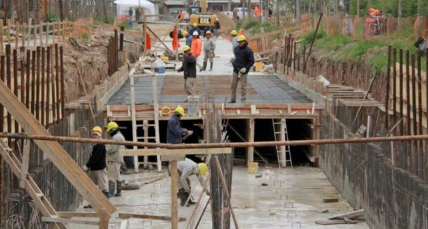 Finaliza la construcción del desagüe Larrea