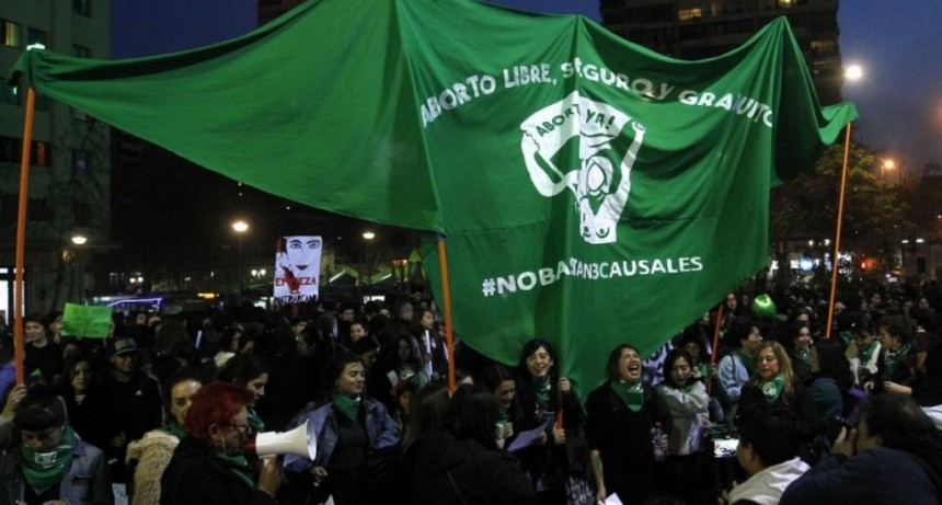 Séptima marcha en Chile por el aborto legal
