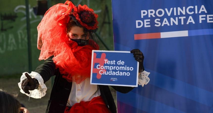 La provincia impulsó nuevamente el Test de Compromiso Ciudadano para concientizar sobre el Covid-19