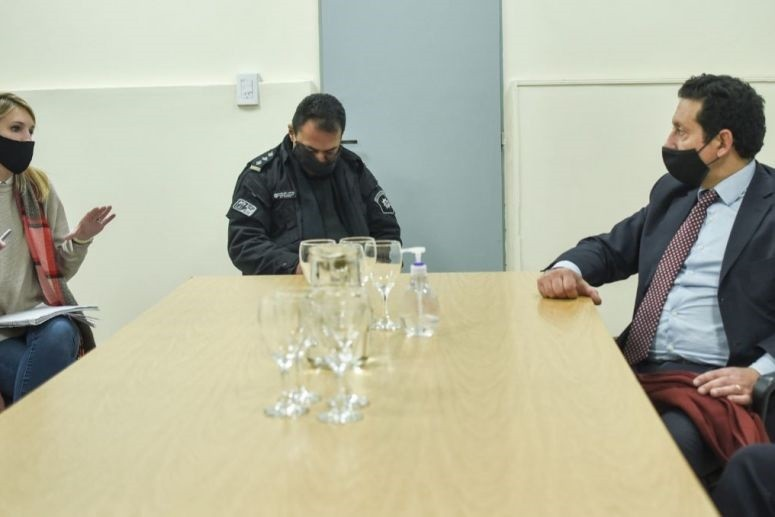 La Municipalidad coordina acciones con Fiscalía y Policía de la provincia