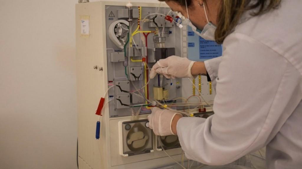 Tres pacientes que recibieron plasma fueron dados de alta