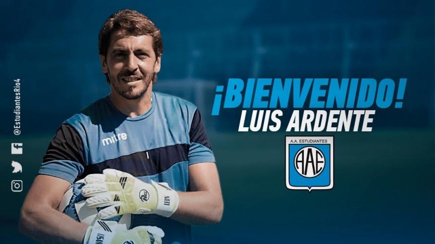 Luis Ardente es nuevo refuerzo de Estudiantes de Río Cuarto