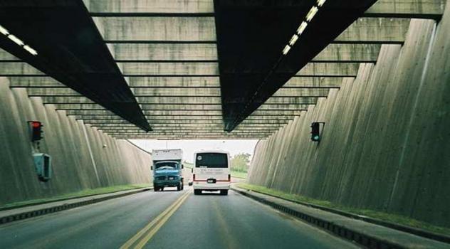 El tránsito sobre el Túnel Subfluvial se redujo más de un 65 por ciento